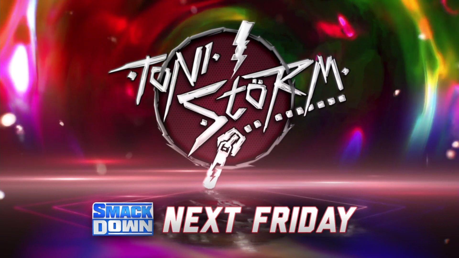 Toni Storm fará a sua estreia no Friday Night SmackDown da próxima semana