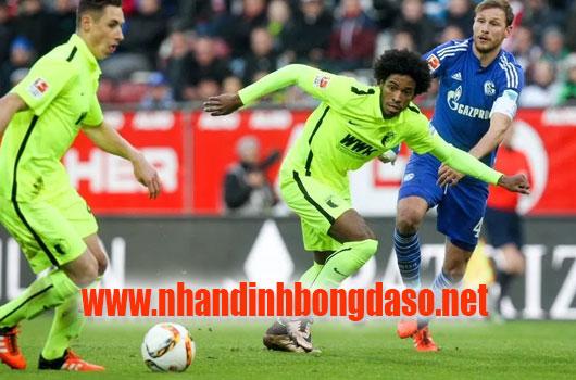 Augsburg vs Wolfsburg www.nhandinhbongdaso.net