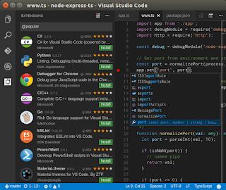 Text Editor Visual Studio Code