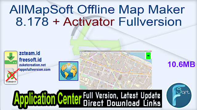 AllMapSoft Offline Map Maker 8.178 + Activator Fullversion
