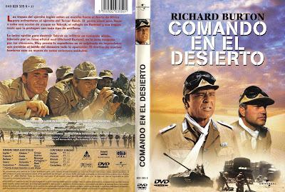 Comando en el desierto - Henry Hathaway - Richard Burton