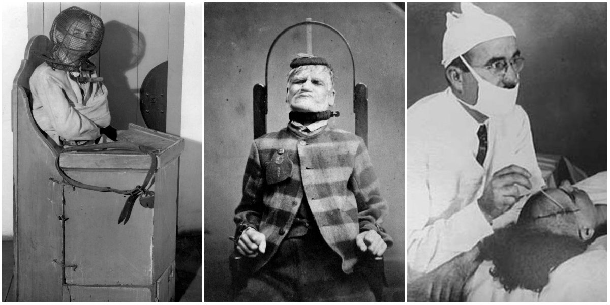 Image result for mental asylum treatments scientists
