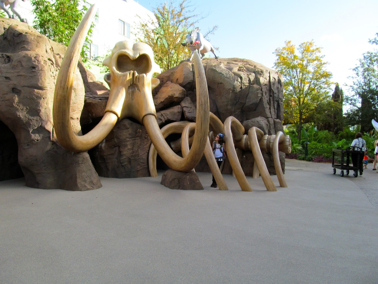 Lion King Area at the Art of Animation Resort