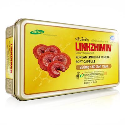 หลินจือมิน เห็ดหลินจือ LINHZHIMIN