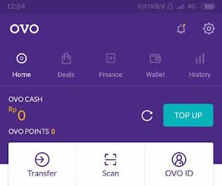 Sekarang untuk melakukan pembayaran tidak perlu lagi memerlukan uang fisik kertas Cara Topup Saldo GO-PAY via OVO Cash
