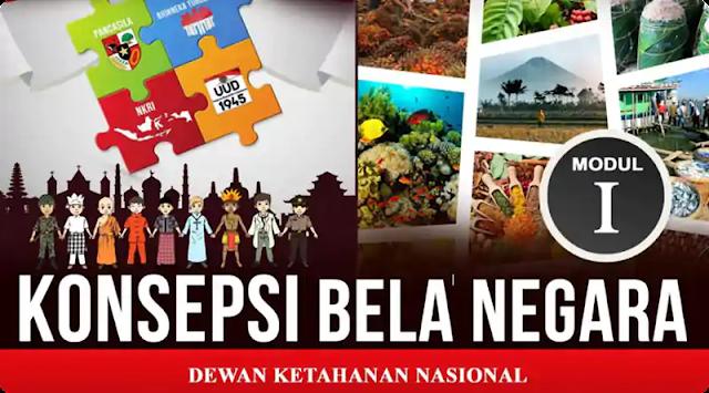 Download Modul Utama Bela Negara Terbaru