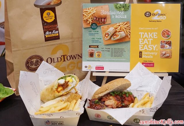 Foodpanda, OLDTOWN 2GO Delivery Meals, OLDTOWN White Coffee, Food Delivery Services, Food,