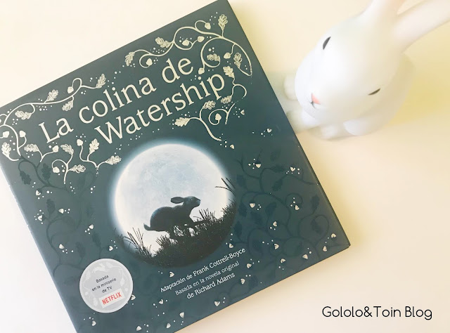 Libro infantil La colina de Watership
