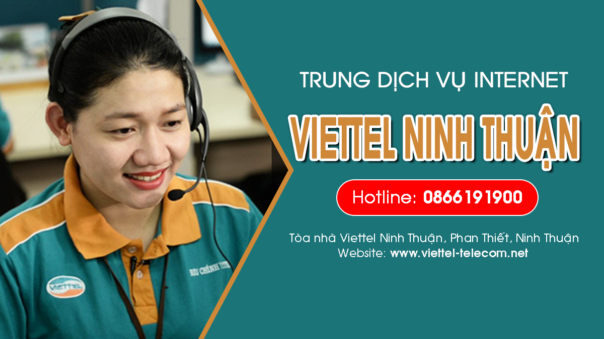 Viettel Ninh Thuận - Tổng đài lắp mạng Internet và Truyền hình ViettelTV