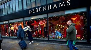 VERY BAD NEWS!  Debenhams Set To Shut Down All STORES As It Accounts £500m  Loss
