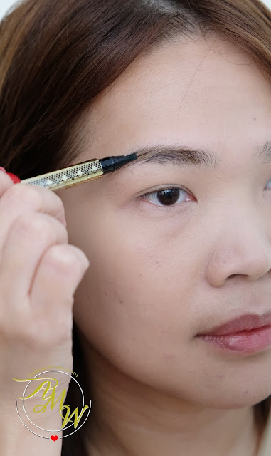 photo of Snoe What's Up Brow!  Eyebrow Embroidery Review by Nikki Tiu
