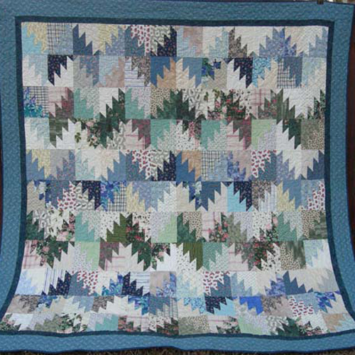 Scrappy Mountain Majesties - Free Quilt Pattern