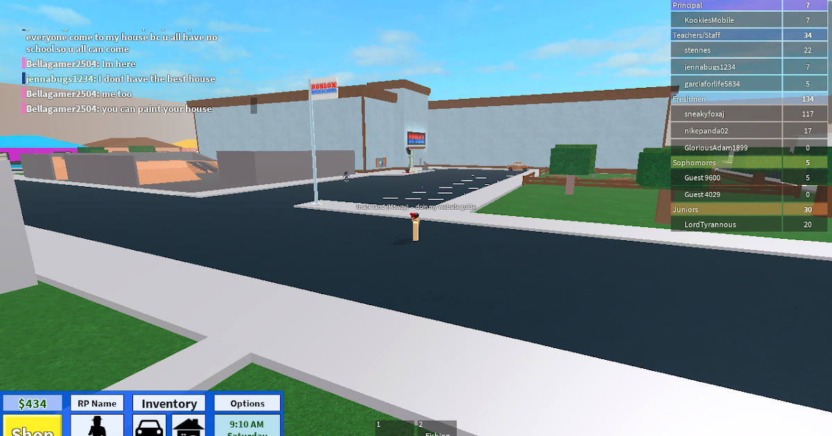 Roblox Game Guides Roblox High School - roblox how does the game choose a spawn location