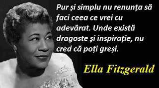 Maxima zilei: 25 aprilie - Ella Fitzgerald