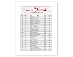 Download a .pdf of the full Year-End Closeout List