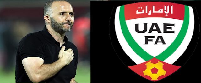 مدرب الجزائر جمال بلماضي يرفض عرضا ضخما لتدريب المنتخب الإماراتي