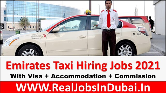 Emirates Taxi Driver Jobs In UAE - 2021