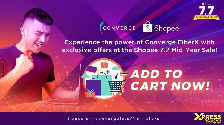 Converge ICT, Shopee partner for easier access to internet plans