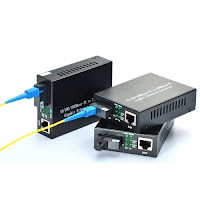 RT/RW Net Menggunakan Fiber Optic Media Converter