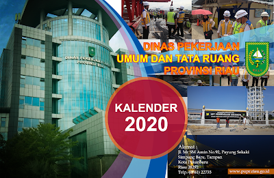 Download Template Kalender Tahun 2020 PSD Full 12 bulan