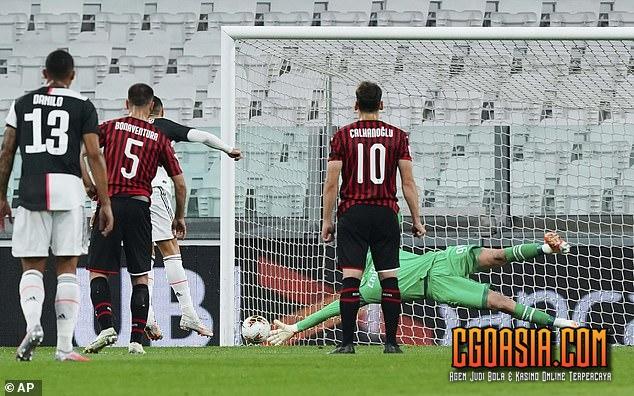 Juventus lolos ke Final Coppa Italia - Rumahsport.com