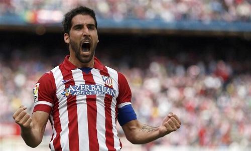 Bàn thắng mà Garcia ghi được ấn tượng hơn rất nhiều so với Fabregas khi cùng thi đấu ở vị trí tiền đạo ảo
