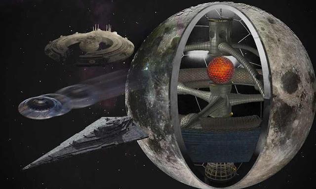 Nhà sư có công năng đặc dị: Mặt trăng là tàu vũ trụ do người tiền sử chế tạo