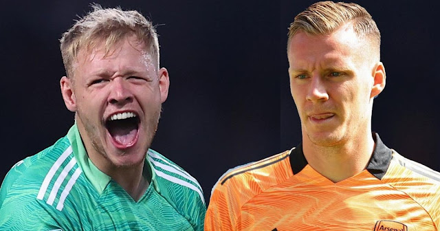 Aaron Ramsdale is set to strip Bernd Leno of the Arsenal number one position
