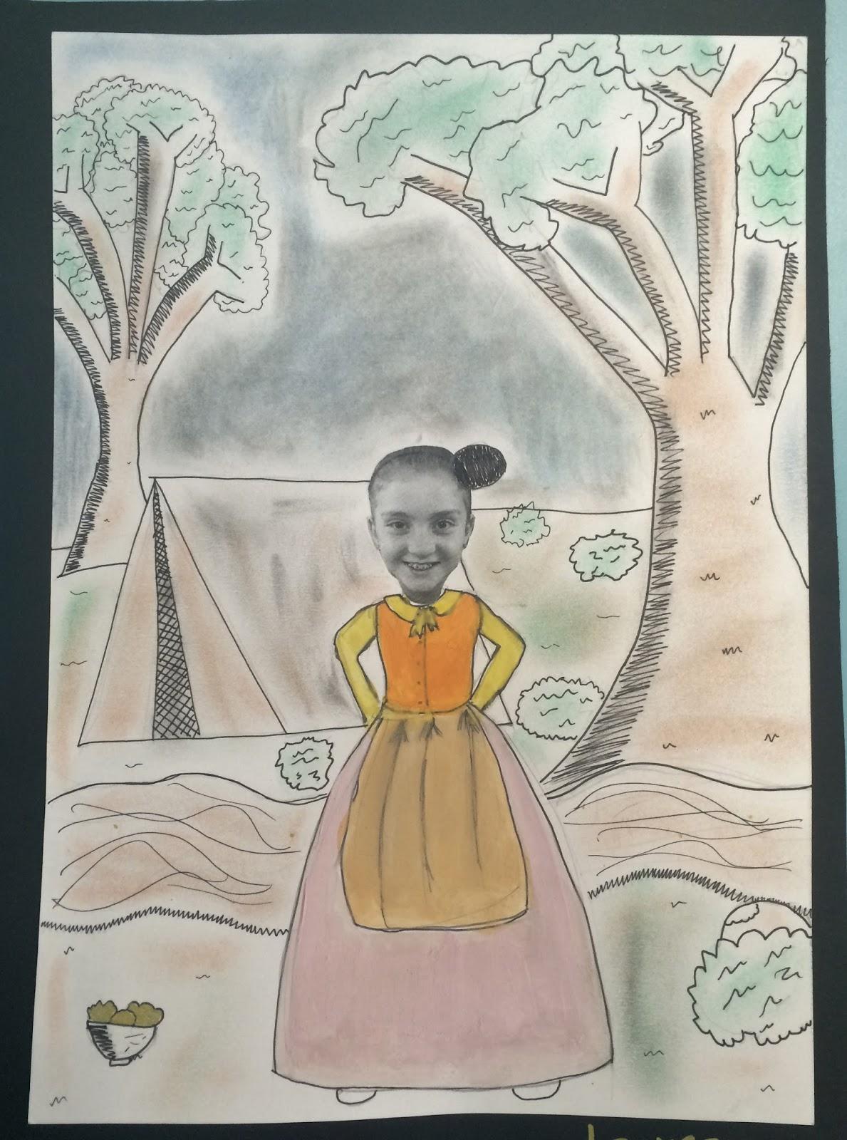 Art With Mrs Baker Grade 5 Gold Rush Artworks