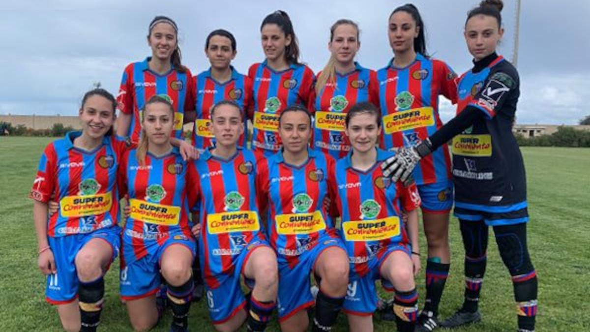 Calcio Catania femminile Girone C Serie C Femminile