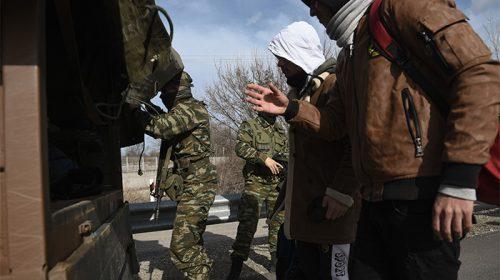 Συνέλαβαν Τούρκο με ρούχα της Στρατοχωροφυλακής σε ελληνικό έδαφος