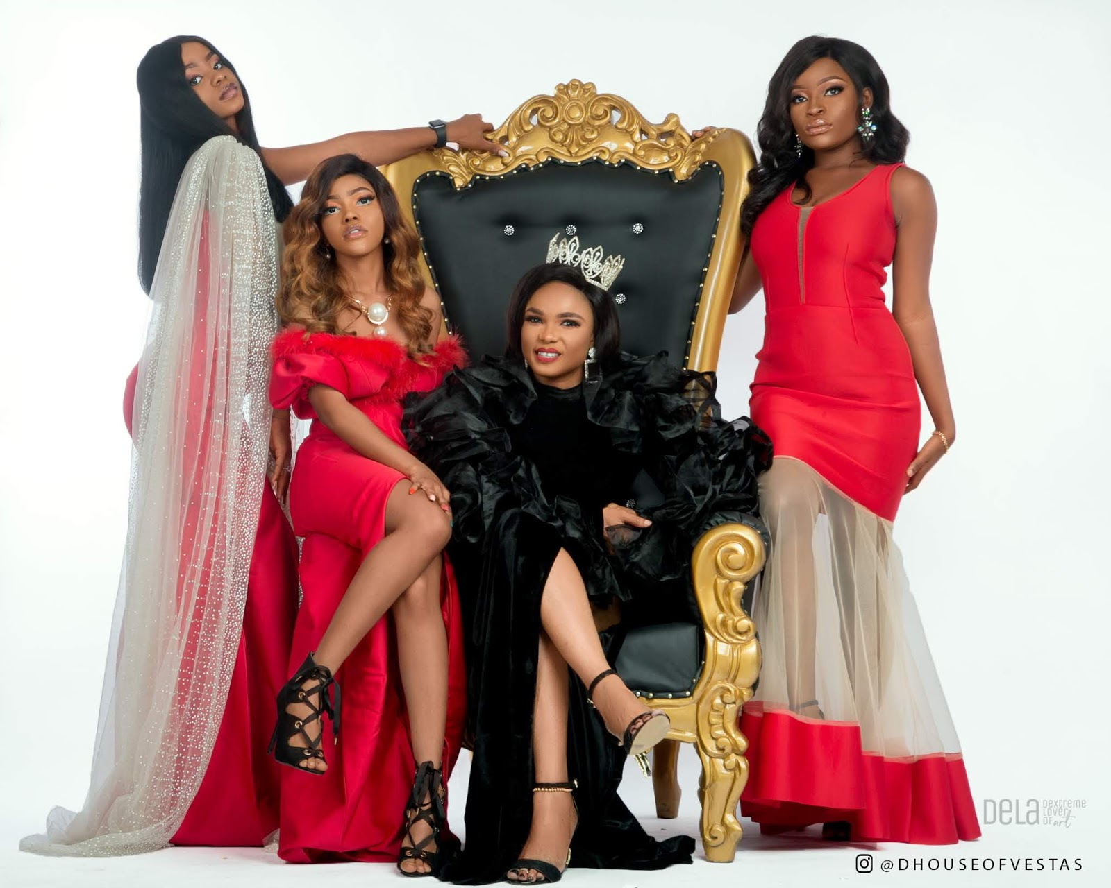 House Of Vestas THE LIONESS AND HER CUBS Featuring Actress Iyabo Ojo Priscilla Ojo Miss Lucy Thacutegemini6