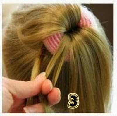 hairstyle for girls step by step, simple hairstyle for medium length ...