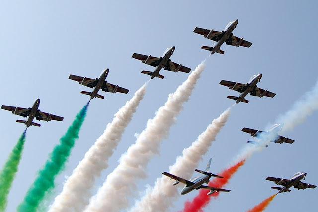 Frecce Tricolori Varenna programma