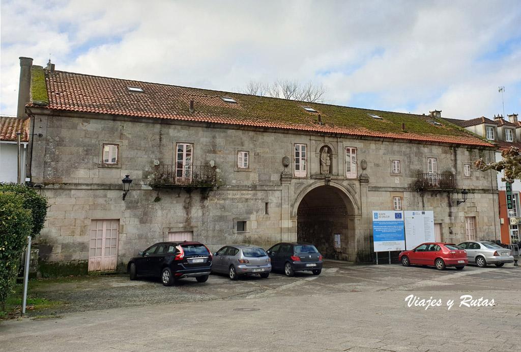 Casa de los arcos del Monasterio de Santa María de Sobrado