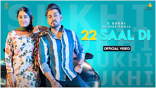 Presenting 22 saal di lyrics penned by Sukhzaar whereas music given Teenu Arora. 22 saal di song is sung by S Sukhi ft Miss Pooja & out by Maple Music .