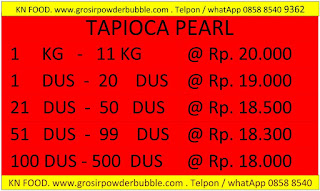 Supplier-Tapioca-Pearl-Termurah-di-Indonesia