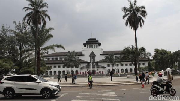 31 Orang Positif Corona, Gedung Sate Bandung Lockdown