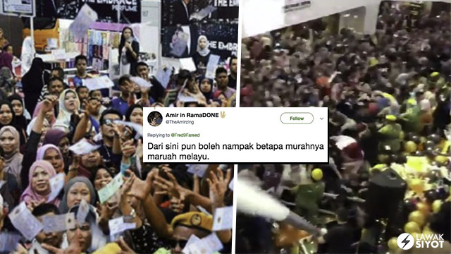 Netizen Gesa Mood Republik Hentikan Trend Hujan Duit
