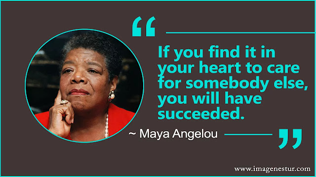 Maya Angelou Quotes on success