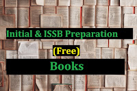 Free PDF Books For Initial & ISSB Preparation (Army, Navy, PAF)