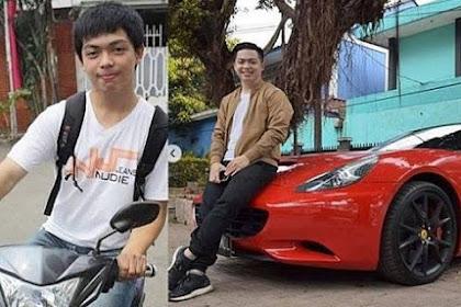 Dahulu Ditolak Wanita Karena Naik Motor, Kini Pria Ini Sudah Memiliki Ferrari