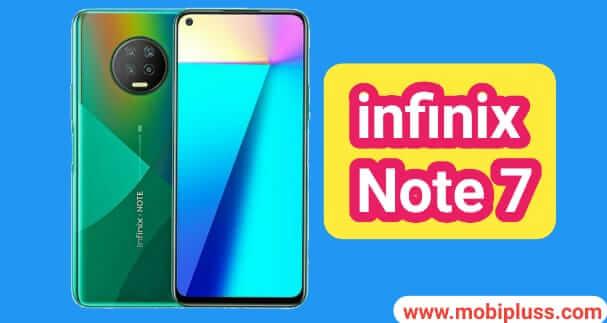 سعر و مواصفات هاتف انفينكس Infinix Note 7 عيوب و مميزات