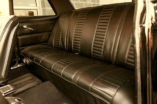 1967 Chevrolet Nova SS Seat Rear