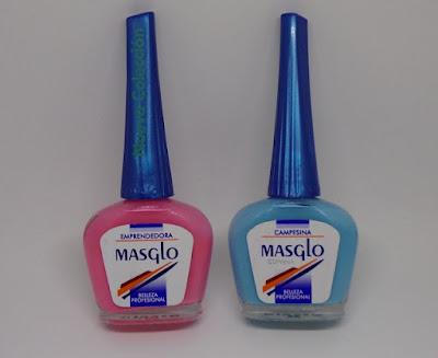 Esmaltes de uñas Masglo