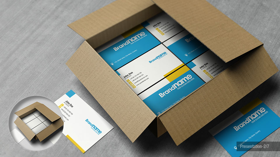 Custom Cardboard Retail Items Packaging Boxes Design: Business Card ...