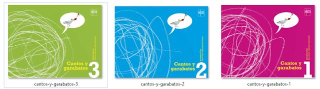 Ejercicios de Grafomotricidad - Libro Cantos y Garabatos 1, 2 y 3