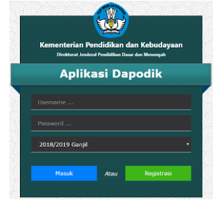Install Aplikasi Dapodik Versi 2019 Di Windows 7