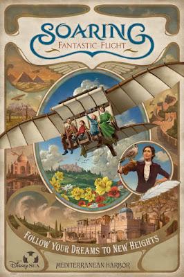 Soaring Fantastic Flight Poster Tokyo DisneySea
