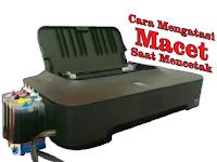 Cara Mengatasi Macet Saat Mencetak atau Print Pada Printer Canon